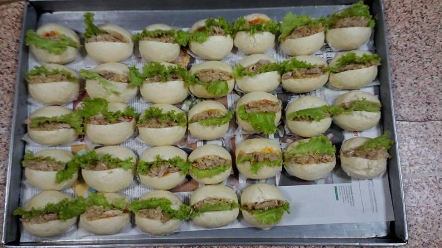 Bakpao Burger Tuna